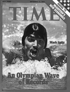 Mark Spitz: Time Magazine Cover